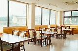 1階ロビー 昼は食堂
