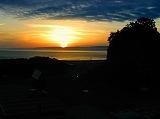 日本海の夕日 絶景です